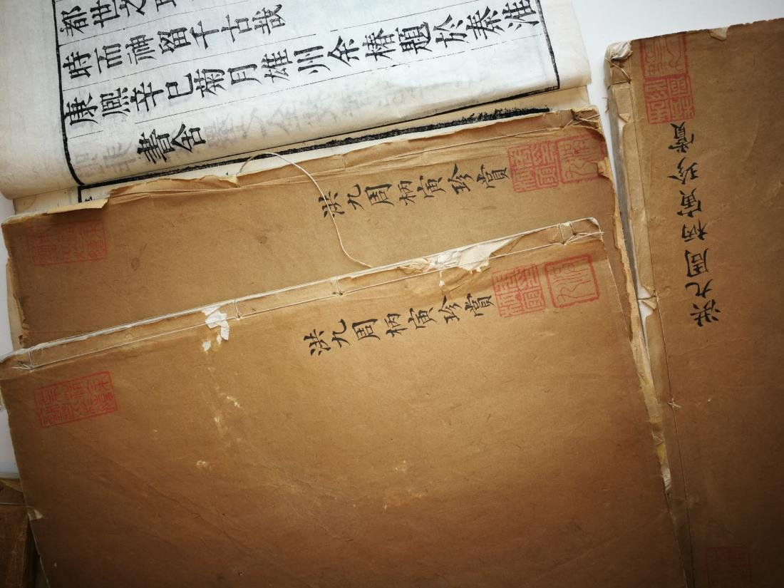 Antique Chinese Books 11 Volumes - 8