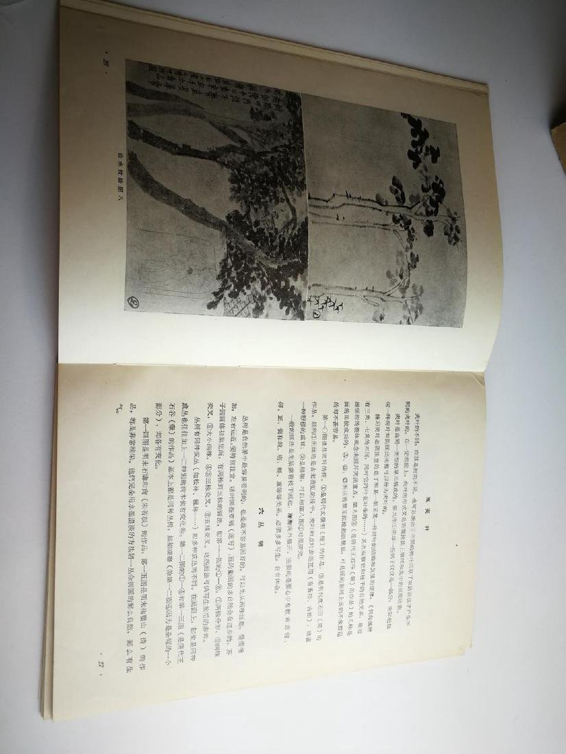1955 Paintings Book by Famous Artist Fu Bao Shi - 6