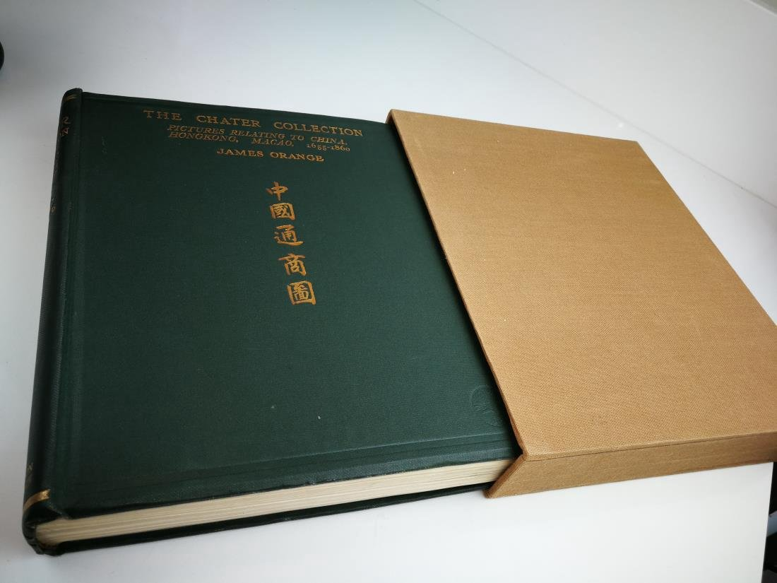 Book THE CHATER COLLECTION Limited Copies In 1924