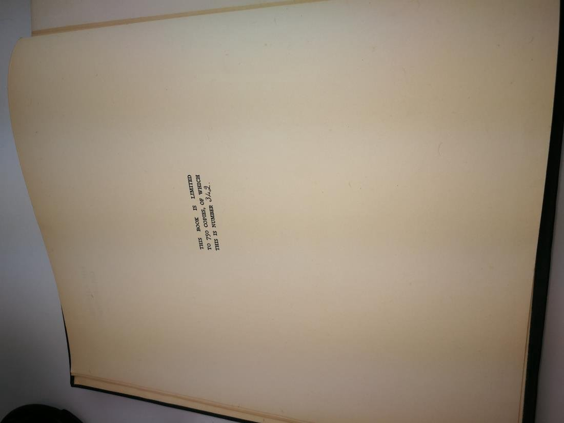 Book THE CHATER COLLECTION Limited Copies In 1924 - 2