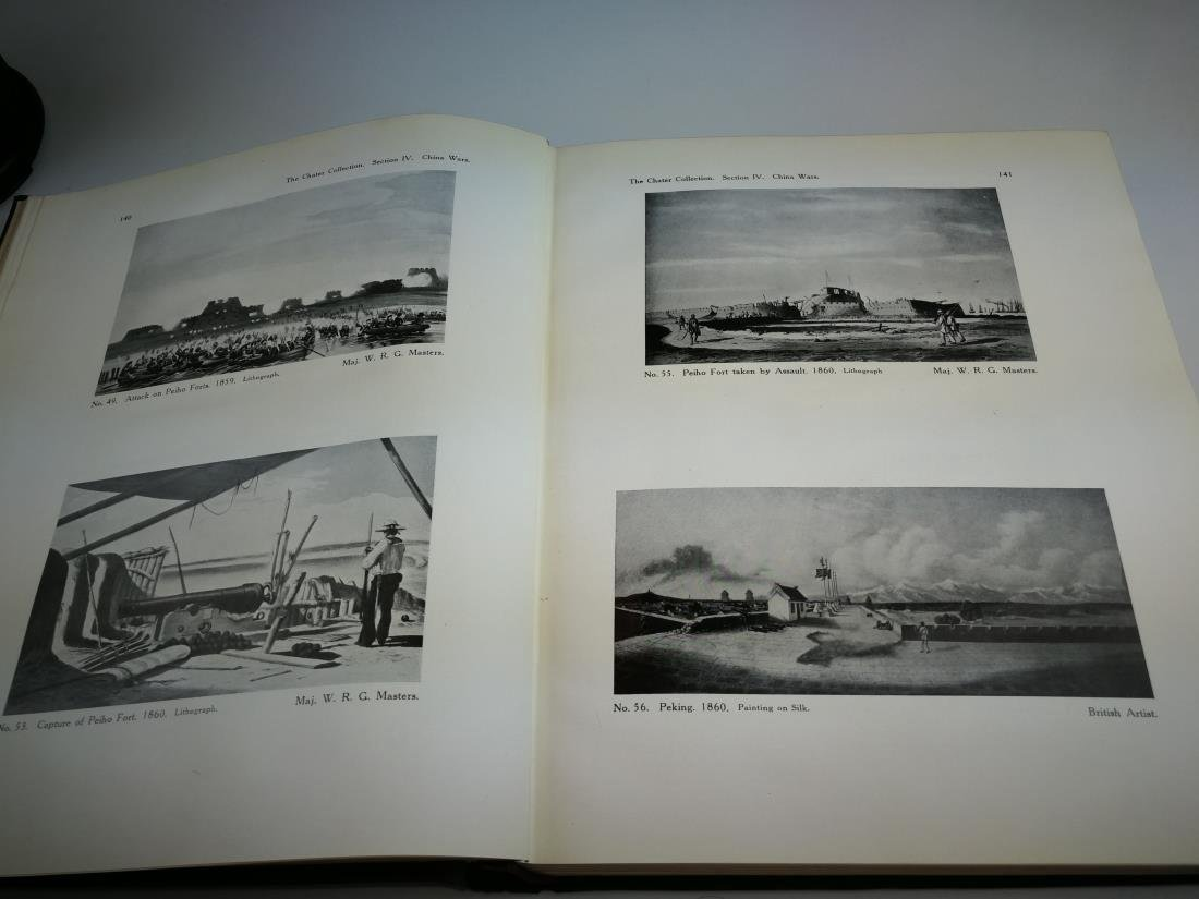 Book THE CHATER COLLECTION Limited Copies In 1924 - 5