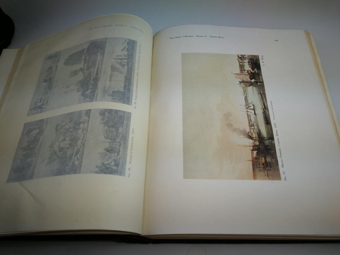 Book THE CHATER COLLECTION Limited Copies In 1924 - 6