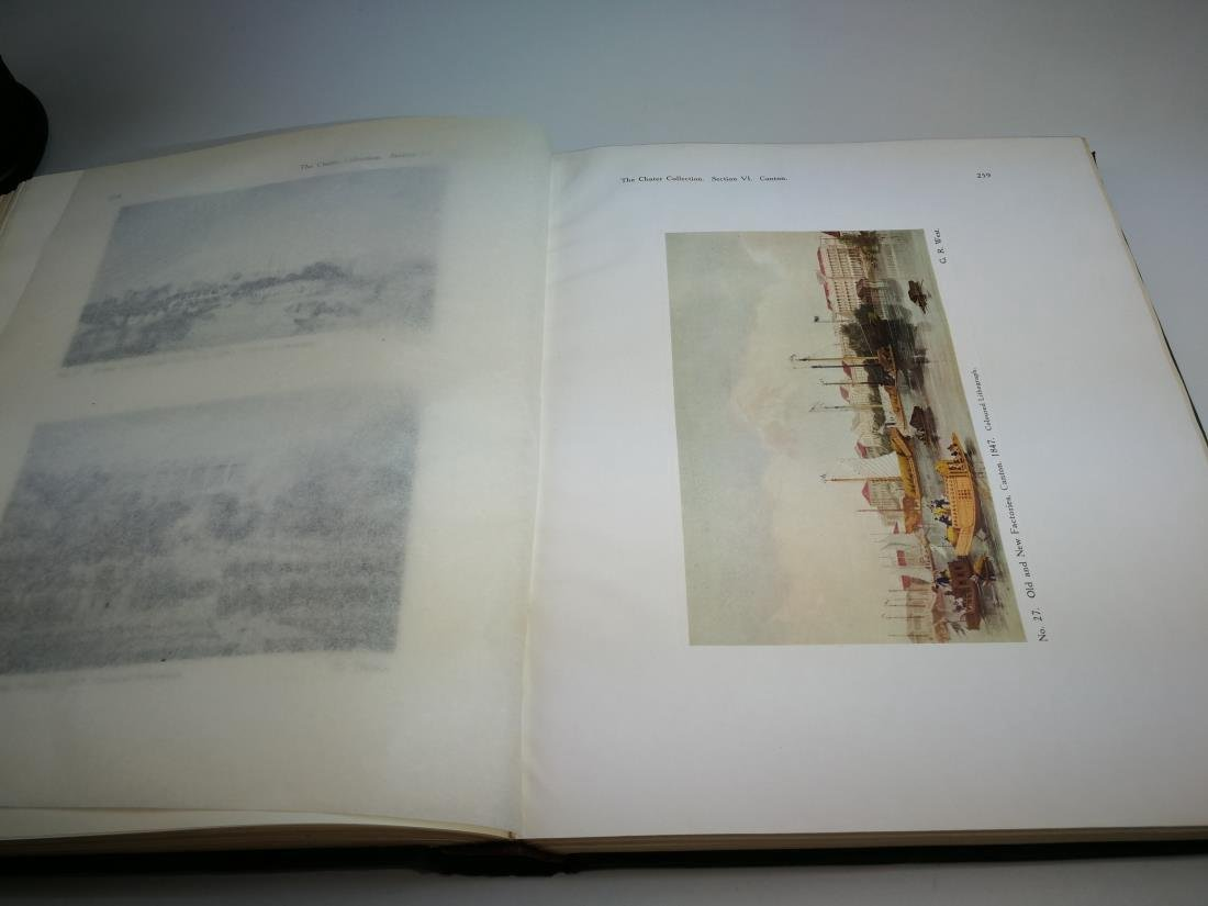 Book THE CHATER COLLECTION Limited Copies In 1924 - 8