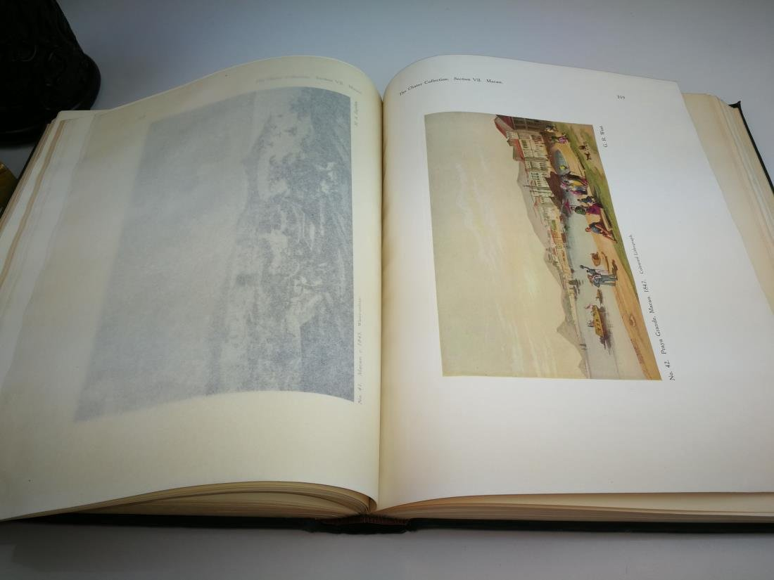 Book THE CHATER COLLECTION Limited Copies In 1924 - 9