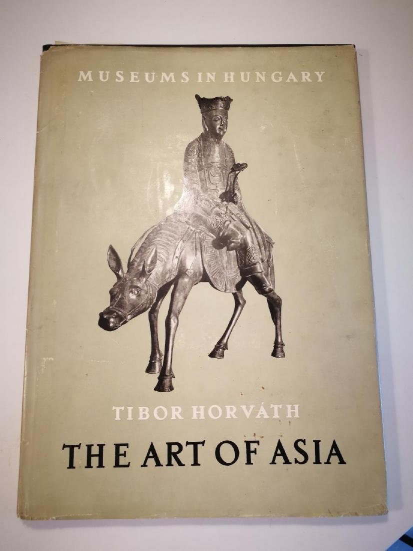 Book THE ART OF ASIA Published in 1954