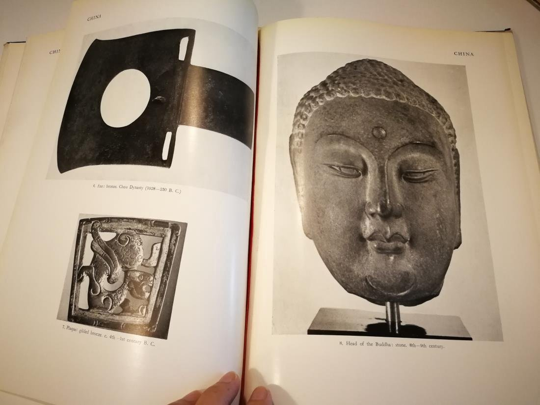 Book THE ART OF ASIA Published in 1954 - 5