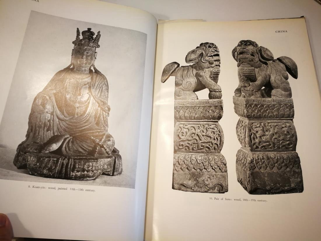 Book THE ART OF ASIA Published in 1954 - 6