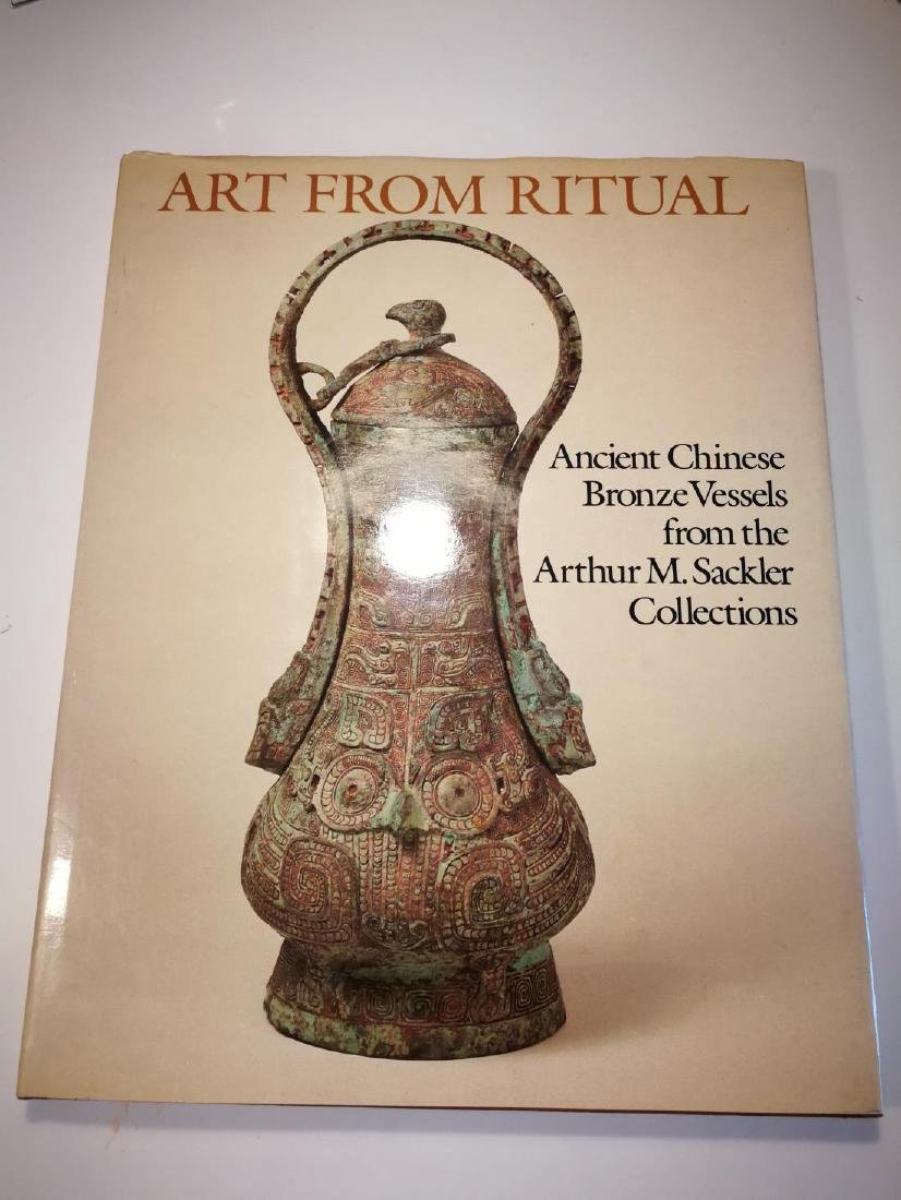 Book ANCIENT CHINESE BRONZE VESSELS Art From Ritual