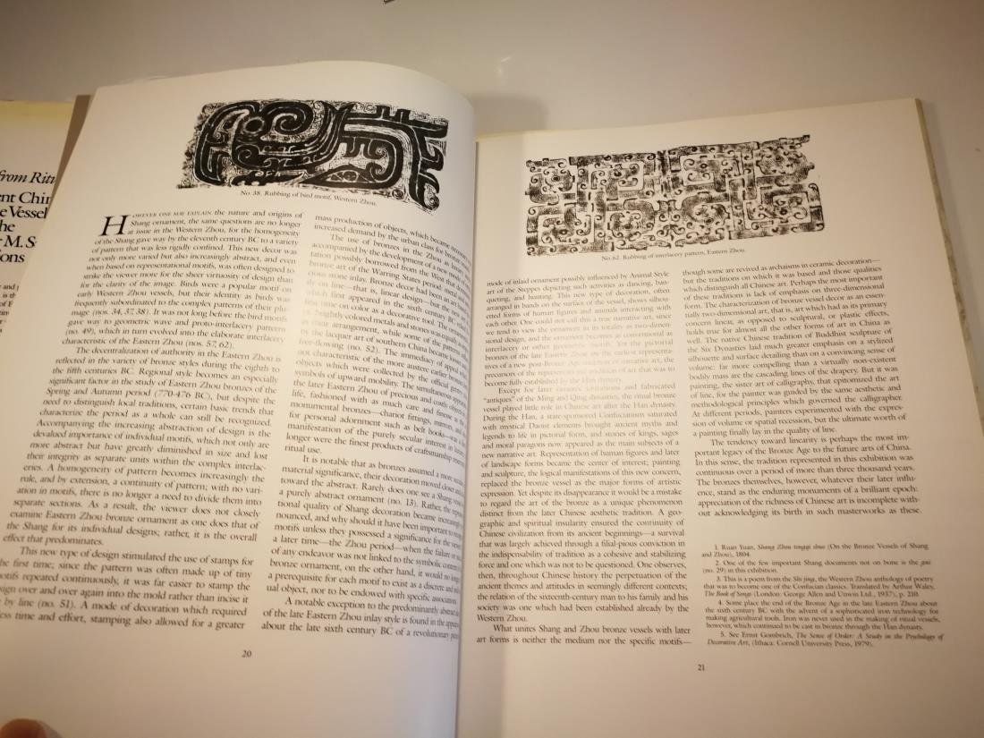 Book ANCIENT CHINESE BRONZE VESSELS Art From Ritual - 7
