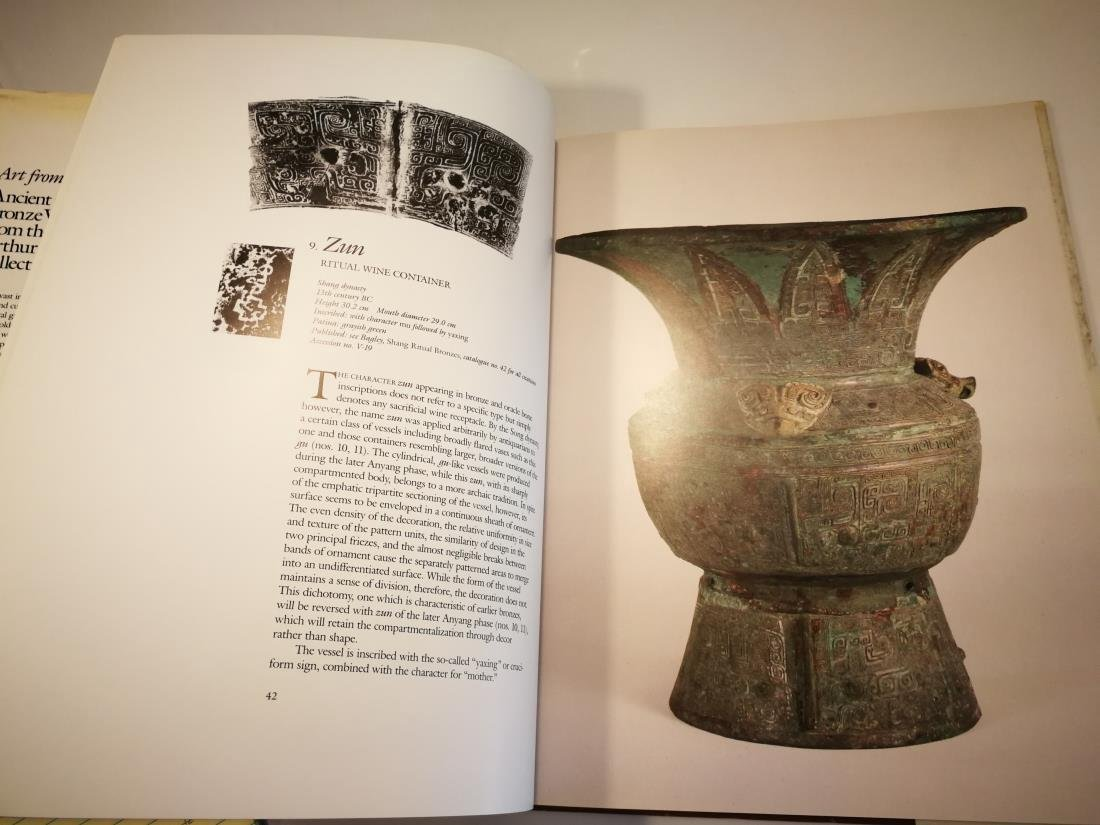 Book ANCIENT CHINESE BRONZE VESSELS Art From Ritual - 9