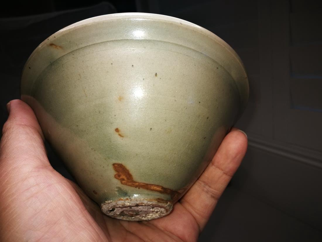 Antique Chinese Yao Zhou Yao Porcelain Bowl - 3