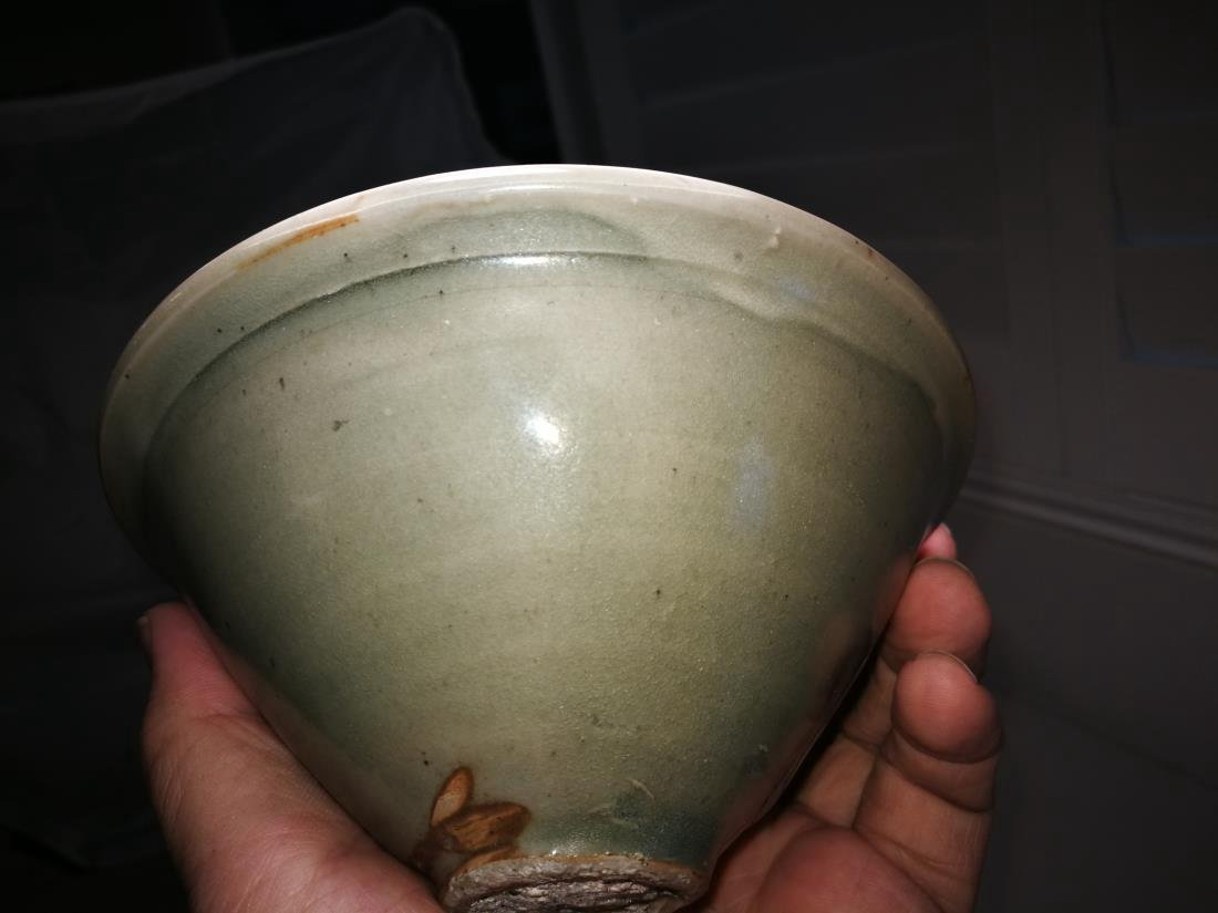 Antique Chinese Yao Zhou Yao Porcelain Bowl - 4