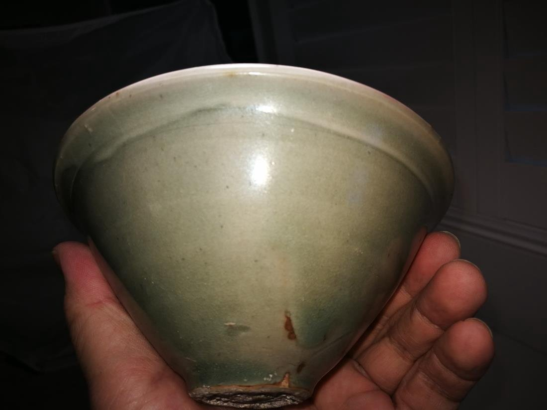 Antique Chinese Yao Zhou Yao Porcelain Bowl - 5