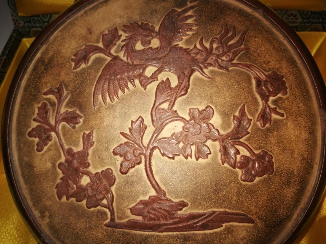 Antique Chinese Yixing Zisha Teapot - 10
