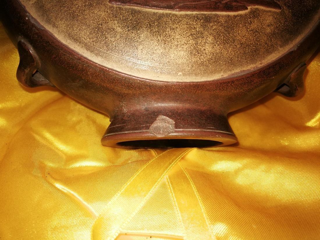 Antique Chinese Yixing Zisha Teapot - 3