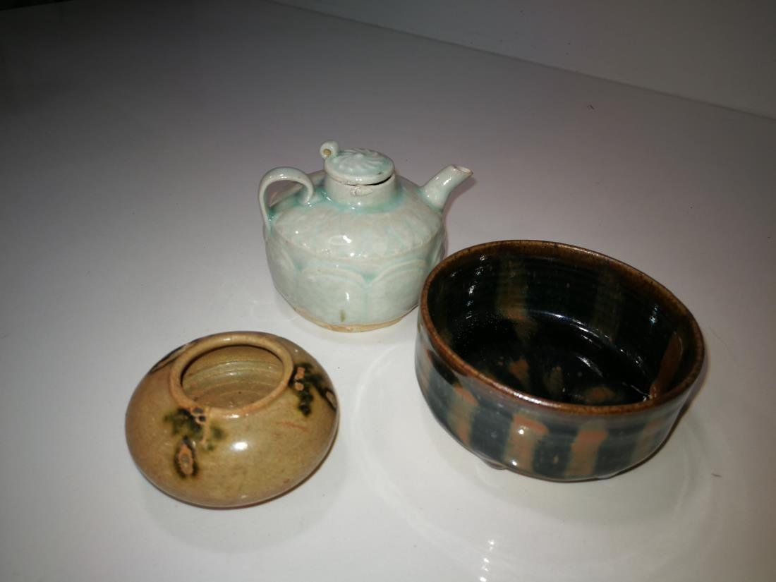 Three Antique Chinese Porcelain Wares