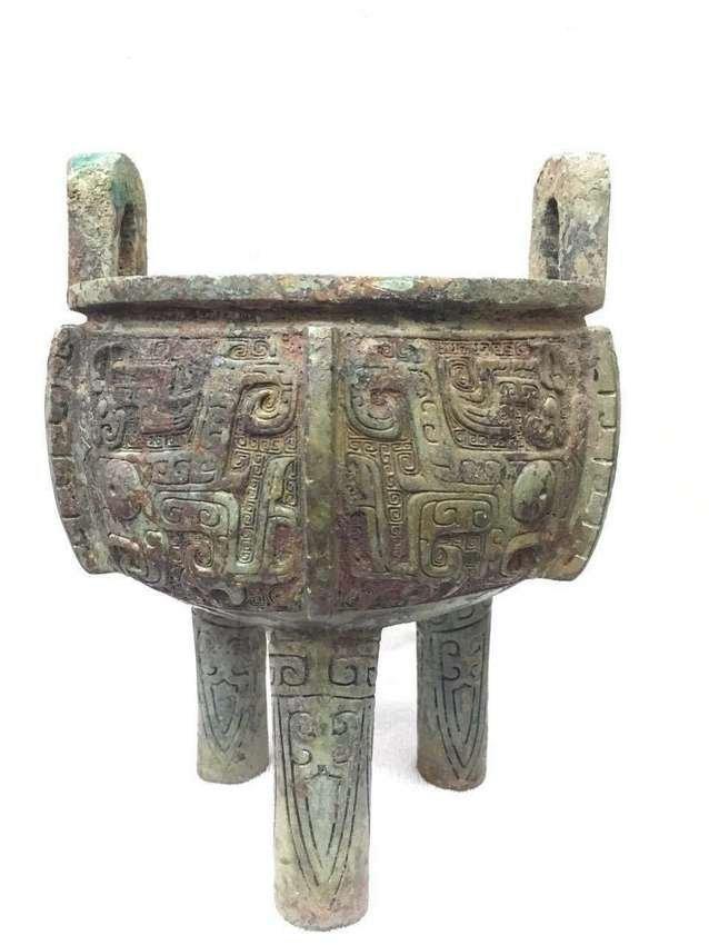 Ancient Chinese Bronze Tripod