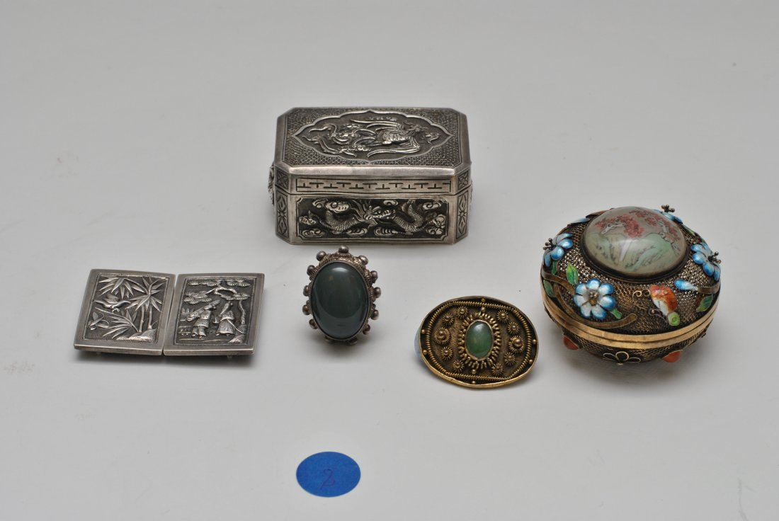 CHINESE SILVER LOTS