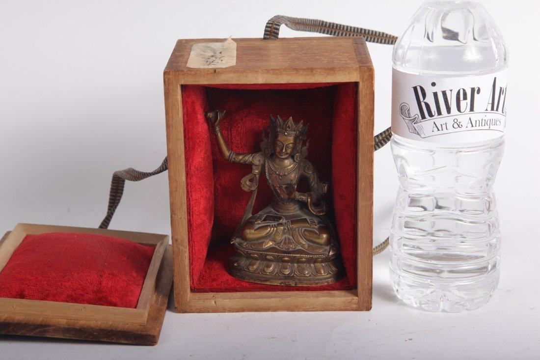 Asian Bronze buddha