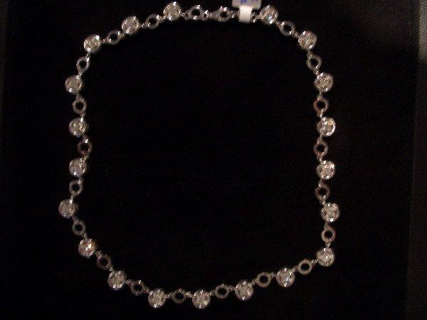 14: Diamond Necklace 4tcw (H color VS clarity)