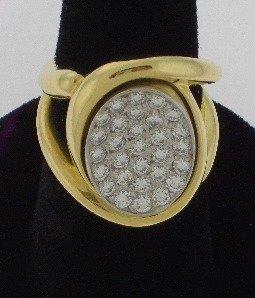 111: Estate Diamond Ring