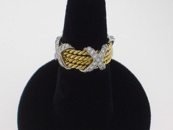 114: Jean Schlumberger Style Diamond Ring