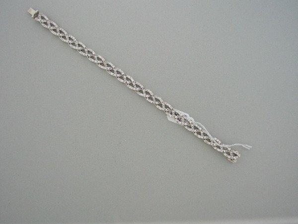 123: Diamond Bracelet in 18Kwhite gold