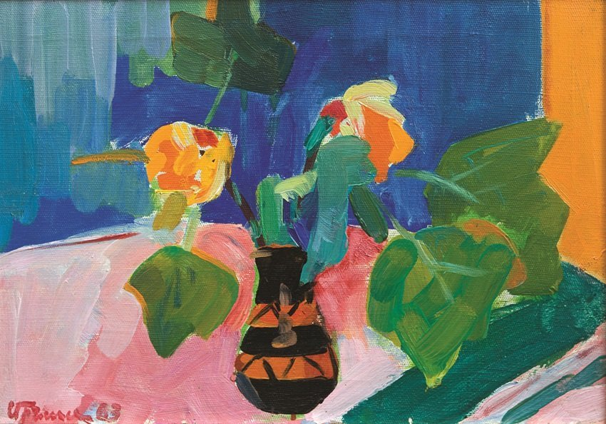Avetisyan Minas, Painting, Still life with flowers