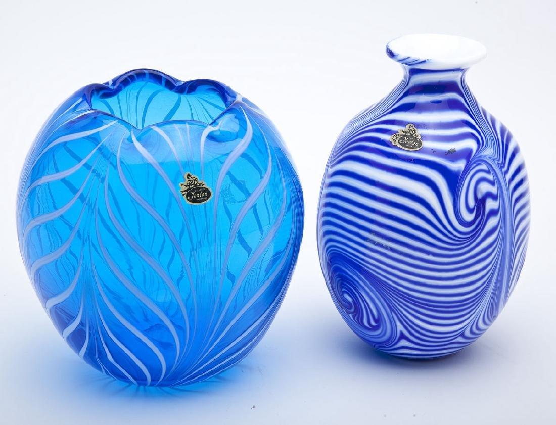 2 Fenton Robert Barber Vases