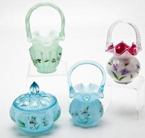 4 Pcs Fenton incl. Baskets