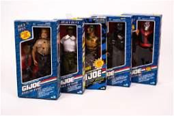 5 G.I. Joe Hall of Fame Figures NIB
