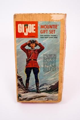 1966 G.I. Joe Sears Exclusive Mountie Gift Set