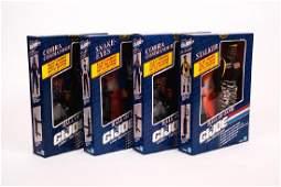 4 G.I. Joe Hall of Fame Figures NIB