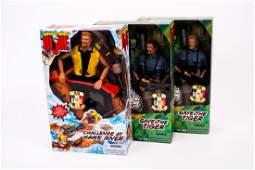 3 G.I. Joe Adventure Figures NIB
