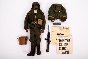 1964 G.I. Joe Black Action Soldier