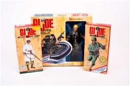 3 G.I. Joe Limited Edition Figures NIB