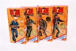 4 G.I. Joe Limited Edition WWII Figure Sets NIB