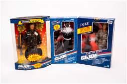 3 G.I. Joe Hall of Fame Figures NIB