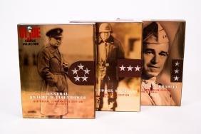 3 G.I. Joe Historical Commanders Figures NIB