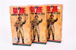 3 G.I. Joe Airborne Military Police Figures NIB