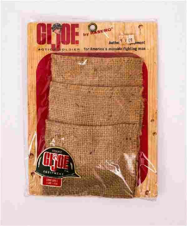 1964 G.I. Joe Action Soldier Sandbags Set MOC