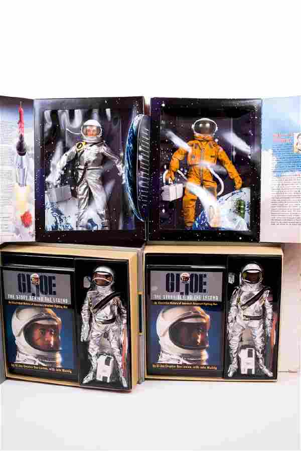 4 G.I. Joe Astronaut Figures NIB