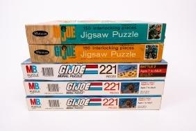 5 G.I. Joe Jigsaw Puzzles