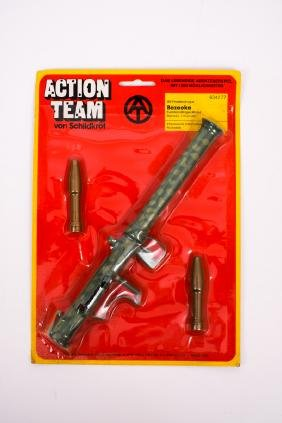 1970 G.I. Joe Action Team German Issue Bazooka Set