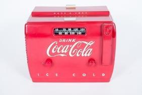 Coca-Cola Cooler Radio Model SA410A