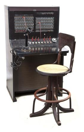 Western Electric Bell System Switchboard