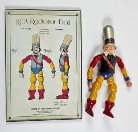 RCA Radiotron Advertising Doll & Poster