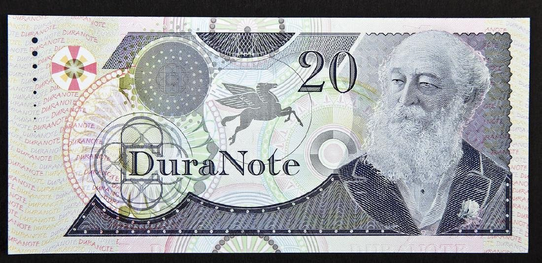 Duranote 20 Units Banknote Specimen BA Banknote