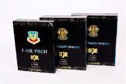 3 GI Joe Ltd Ed Figures incl Army Golden Knight