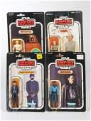 4 1980 Star Wars ESB Figures incl Lando Calrissian